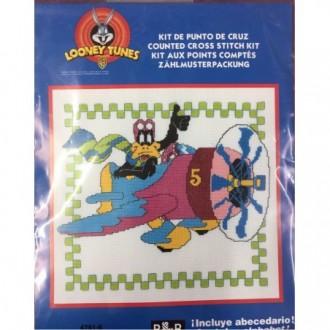 Kit punto croce Daffy Duck