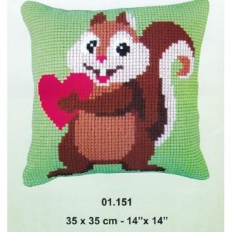 Kit cuscino punto croce